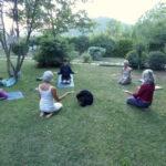 B&B Torre dei Magnani Yoga in giardino